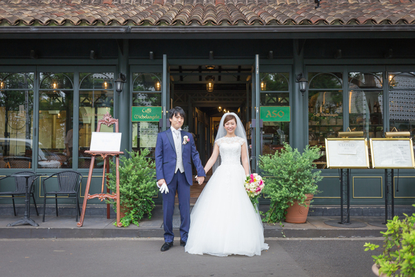 wedding report リストランテaso ブログ オーセンティック銀座