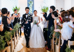 Wedding Report【快晴の祝福】